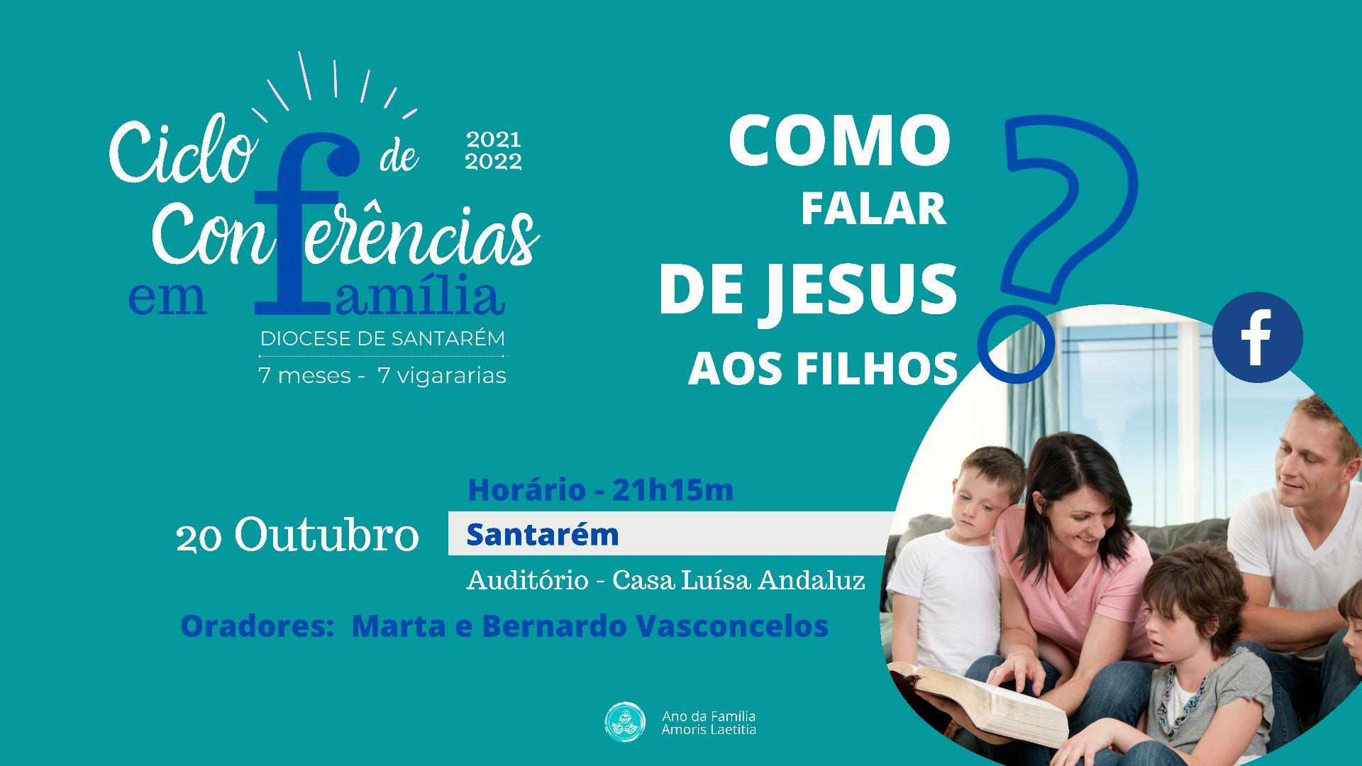 Agenda completa do Ciclo de Conferências em Família